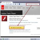 Adobe Flash Player 25.0.0.127 Ekran Görüntüsü