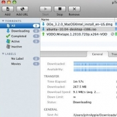 uTorrent Mac 1.8.7 build 413 screenshot