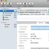 uTorrent Mac 1.8.7 build 413 Ekran Görüntüsü