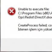 d3dx9_43.dll yok screenshot
