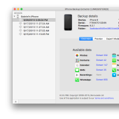 iPhone Backup Extractor 7.3.5.1399 screenshot