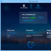 VPN Unlimited 3.3 screenshot