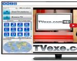 TVexe Ekran Görüntüsü